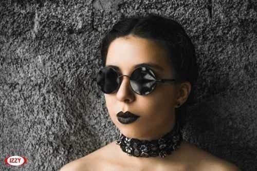 Óculos De Sol Redondos Retrô Vintage Lennon Ozzy 3917141c7e