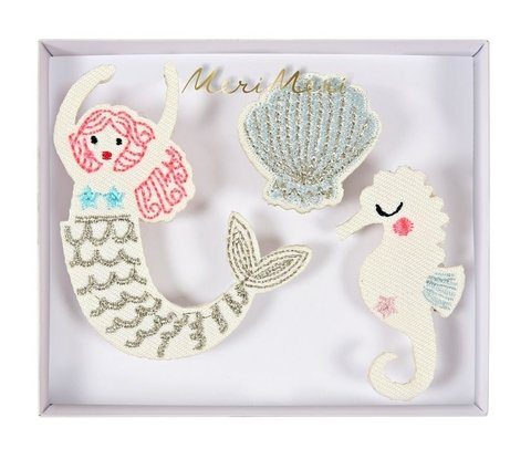 SET DE 3 BROOCHES SIRENAS