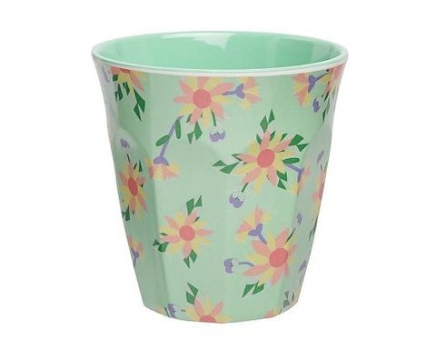 VASO MELAMINA FLOREADO BLOOM