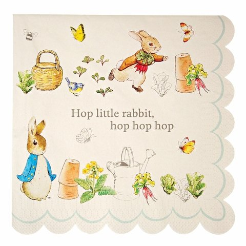 SERVILLETAS PETER RABBIT GRANDES