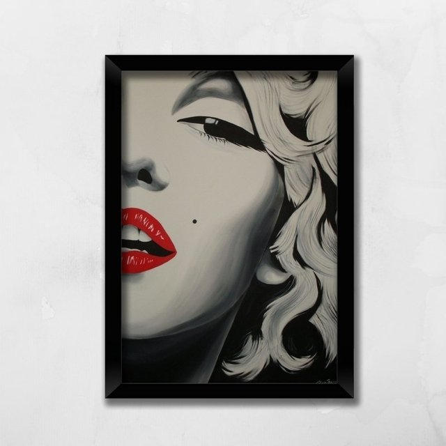 Quadro Marilyn Monroe - Comprar em Balaio de Ideias