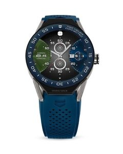 Relogio Tag Heuer Connected 45 Sbf8a8012.11ft6077 Azul