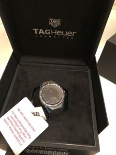 Imagem do Relogio Tag Heuer Connected 45 Sbf8a8012.11ft6077 Azul