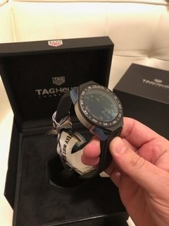 Relogio Tag Heuer Connected 45 Sbf8a8012.11ft6077 Azul na internet