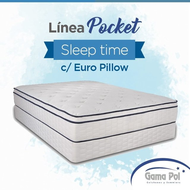 Sleep Time c/ Euro Pillow