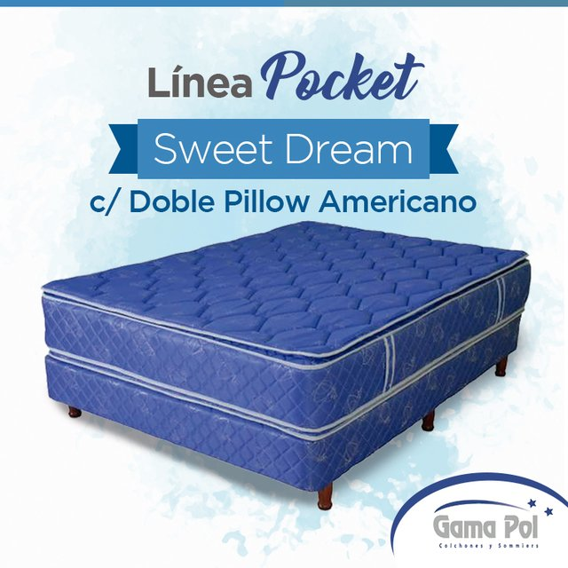 Sweet Dream con doble pillow americano - comprar online