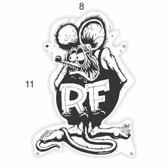 Adesivo Ratlook - Rat fink - 110 x 80 mm na internet
