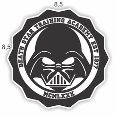 Adesivo Geeks - Star Wars Training Academy - 85 x 85 mm na internet