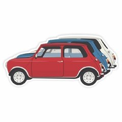 Adesivo Mini - The Italian Job I - 145 x 70 mm