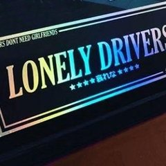 Adesivo Especiais JDM - Lonely Drivers - 120 x 282 mm - comprar online