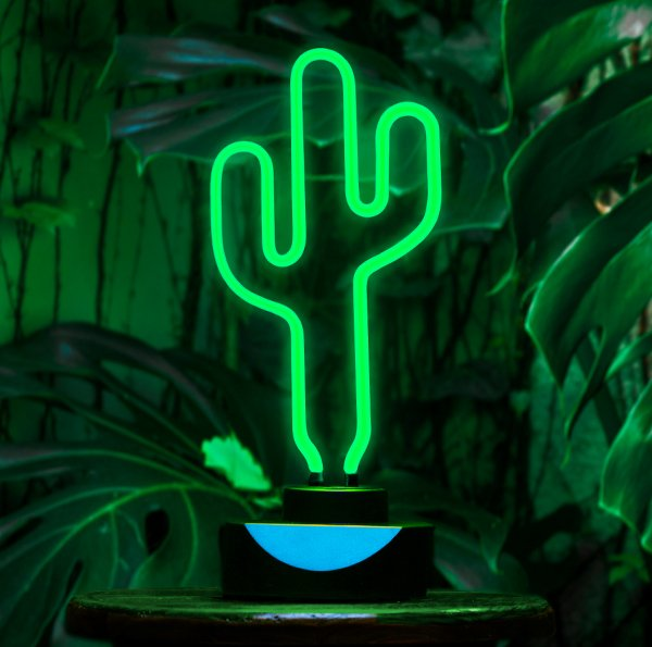 Lámpara de Neon Arizona Cactus. en internet