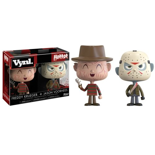 Funko Vynl: Freddy Krueger And Jason Voorhess