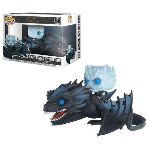 Funko Pop Rides: Night King And Icy Viserion (Game Of Thrones) (Glows In The Dark)