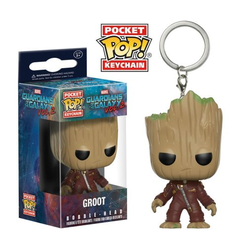 Pocket Pop Keychain: Groot (Guardians Of The Galaxy 2)