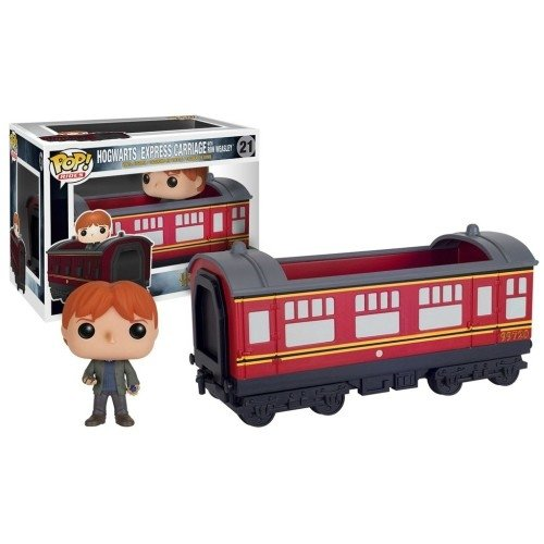 Funko Pop Rides: Hogwarts Express Carriage With Ron Weasley