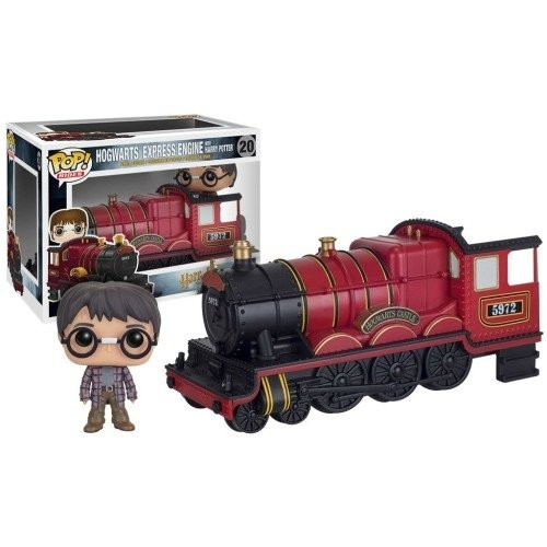 Funko Pop Rides: Hogwarts Express Engine With Harry Potter
