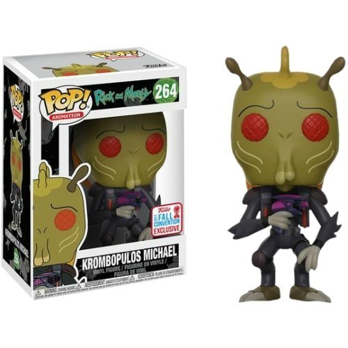Funko Pop: Krombopulos Michael (Rick And Morty) (2017 Fall Convention Exclusive)
