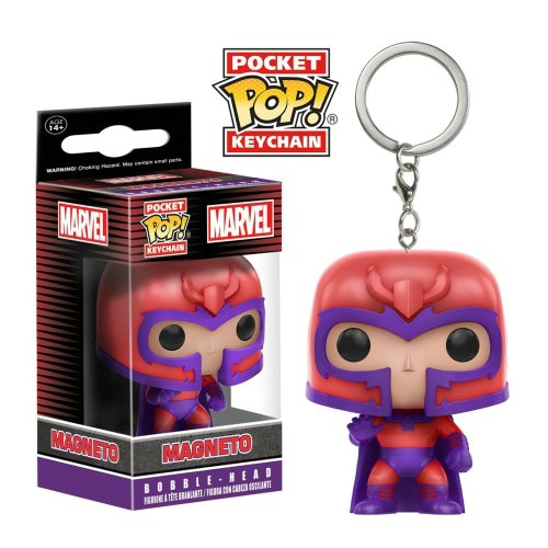 Pocket Pop Keychain: Magneto
