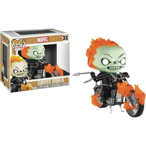 Funko Pop Rides: Ghost Rider (Marvel) (PX Previews Exclusive)