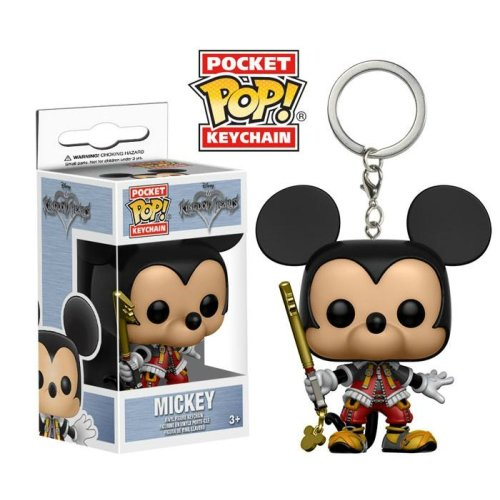 Pocket Pop Keychain: Mickey (Kingdom Hearts)