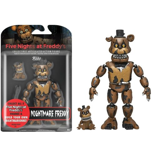 Action Figure Nightmare Freddy (Five Nights At Freddy's)