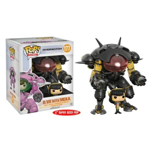 Funko Pop: D. VA With Meka Carbon Fiber (Overwatch) (6