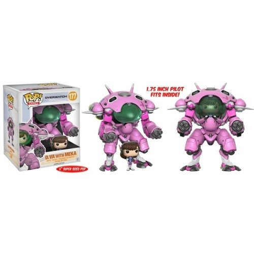 Funko Pop: D. VA With Meka (Overwatch) (6