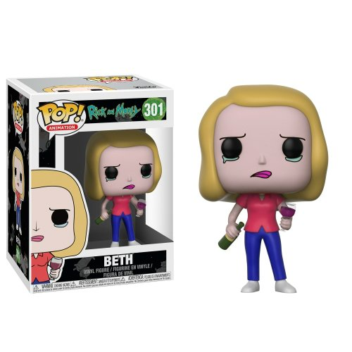 Funko Pop: Beth (Rick And Morty)