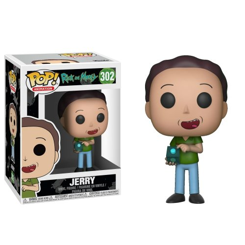 Funko Pop: Jerry (Rick And Morty)