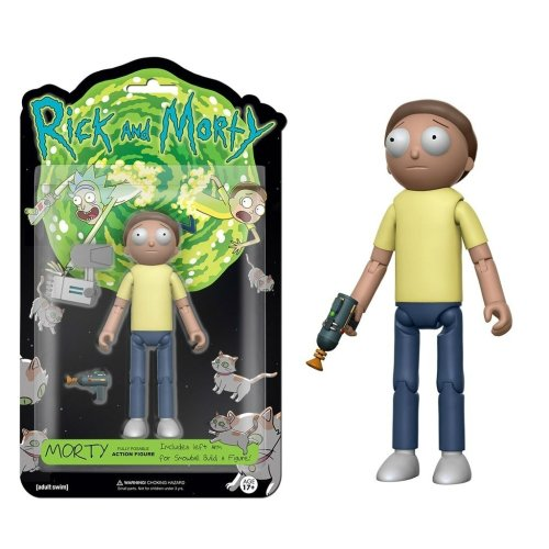 Action Figure Morty Fully Posable Funko (Rick And Morty) - comprar online