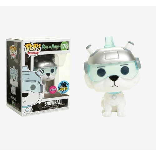 Funko Pop: Snowball (Flocked) (Rick And Morty) (Exclusive L.A Comic Con)