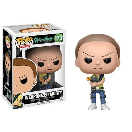 Funko Pop: Weaponized Morty (Rick And Morty)