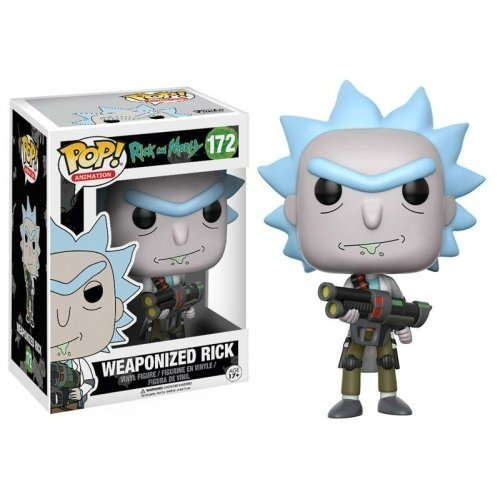 Funko Pop: Weaponized Rick (Rick And Morty)
