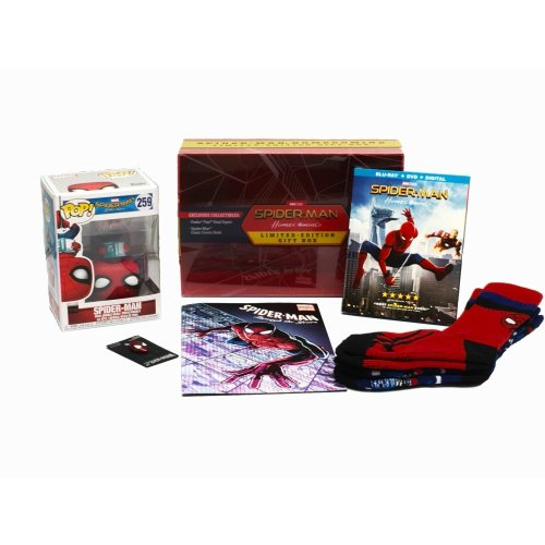 Spiderman Homecoming (Limited Edition Gift Box) (Walmart Exclusive)