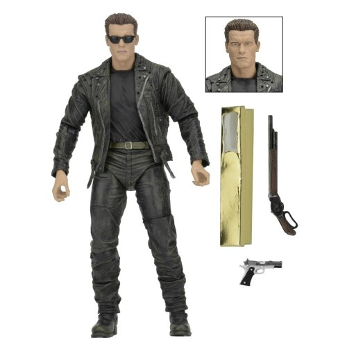T-800 Terminator 2 Judgment Day 3D - Neca - comprar online