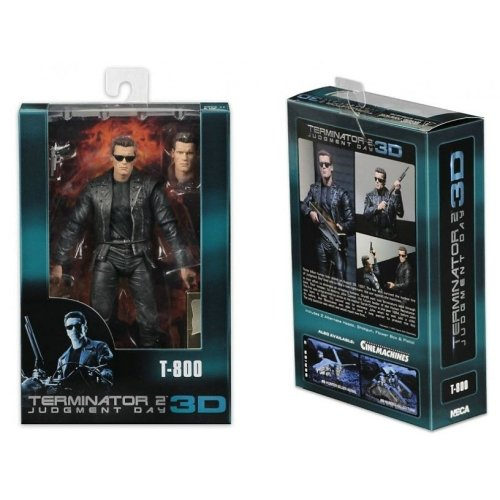 T-800 Terminator 2 Judgment Day 3D - Neca