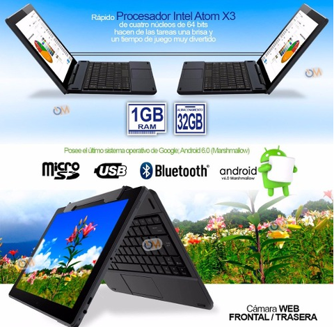 Tablet 10 Pulgadas Quad Core Android 6.0 32gb Teclado Dual en internet