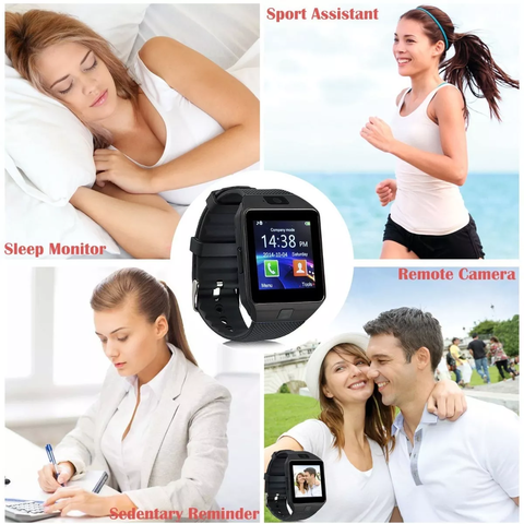 Reloj Inteligente Smartwatch Android Camara Bluetooth Sim - OFERTAMAYOR