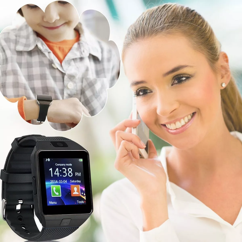 Reloj Inteligente Smartwatch Android Camara Bluetooth Sim