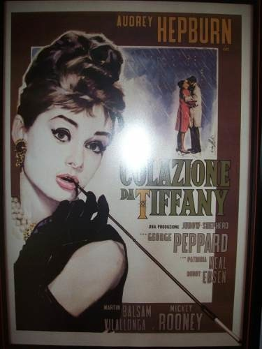 Retro Reproductions - Breakfast At Tiffany´s -posters-italia
