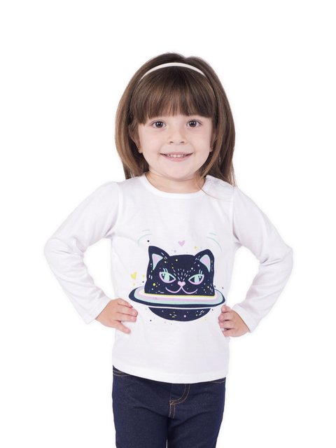 Remera Space Cat