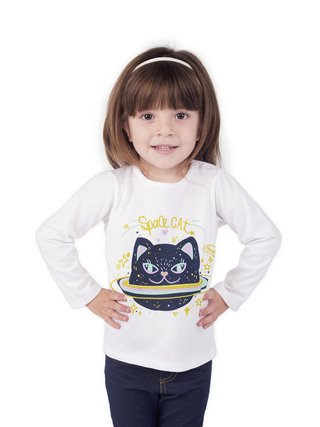 Remera Space Cat - comprar online
