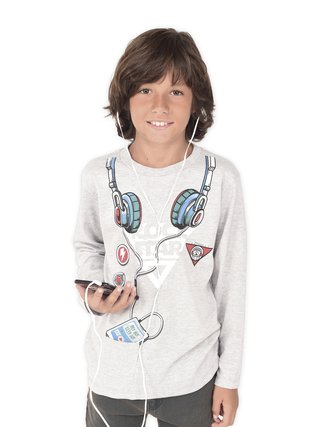 Remera Headphones Boys
