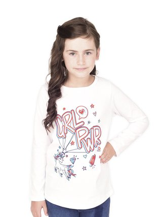 Remera Girl Power 3D - comprar online