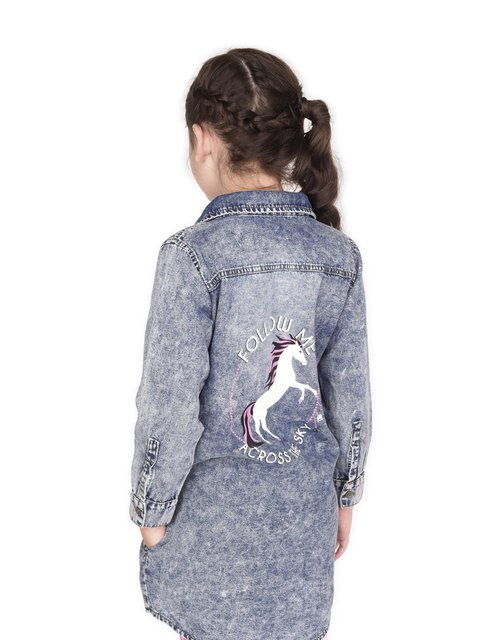Vestido Denim Unicorns