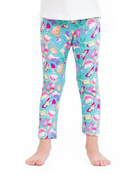 Leggings Gatos Summer