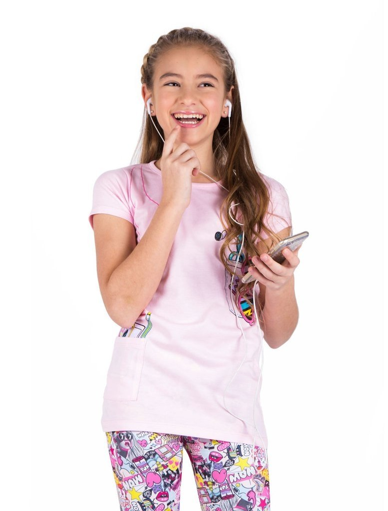 Remera Headphone Girls - comprar online
