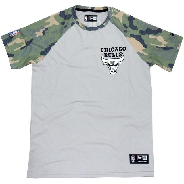 Camiseta New Era Chicago Bulls Camo NBA - Street 14 be3371bcaa0f5