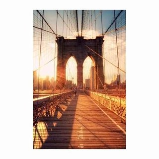Cuadro Focu Deco En Lienzo Canvas 20x30 Brooklyn Bridge Atar