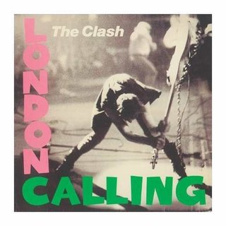 Cuadro Focu Deco Lienzo Canvas 20x20 Clash London Calling